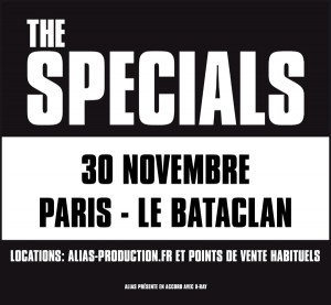 The Specials Paris artwork